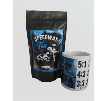 ZESTAW SPEEDWAY TEA - CYTRYNOWA SENCHA + KUBEK