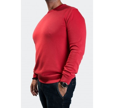 Sweter czerwony