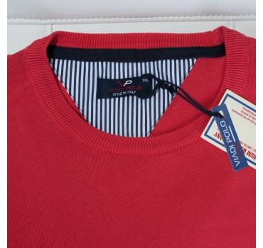 Sweter czerwony metka