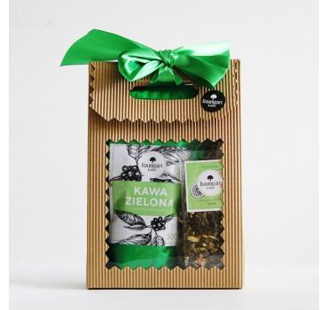 Zestaw Green: herbata Oaza + kawa zielona