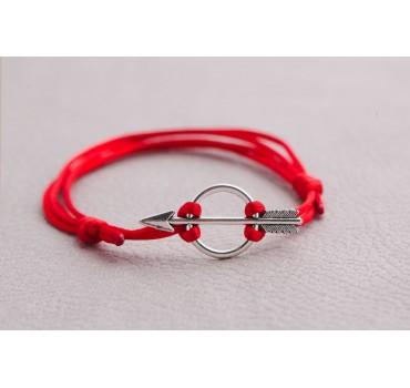 Bransoletka czerwona strzała